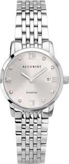 Accurist Women's Signature Silver Coloured Diamond Bracelet Watch