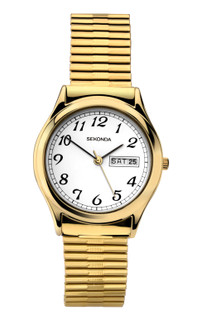 Sekonda Men's Gold Plated Expander Watch 3924 RRP £39.99 Our Price £35.95
