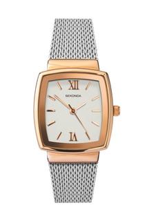 Sekonda Ladies Two Tone Mesh Bracelet Watch 40074 RRP £44.99 Our Price £35.95