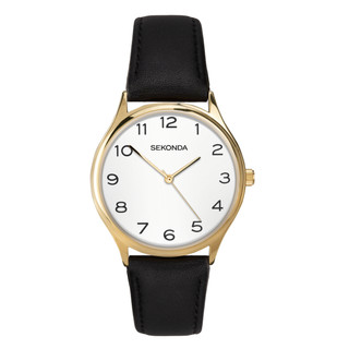 Sekonda Classic Men's Gold Plated Strap Watch 1854 RRP £39.99 Our Price £31.95