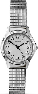 Ladies Silver Tone Expanding Bracelet Watch 4133B RRP £49.99 Our Price £39.95