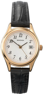 Sekonda Ladies Classic Easy To Read Strap Watch 4082 RRP £39.99 Our Price £31.95
