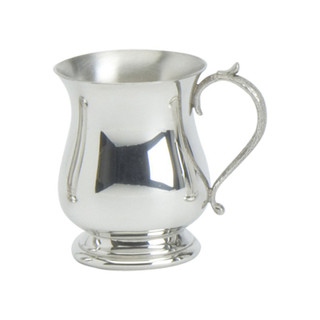 Georgian Pewter Childs Can