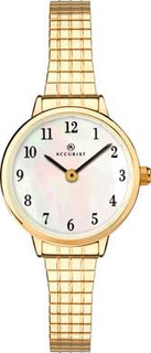 Accurist Ladies Gold Plated Expanding Bracelet Watch 8208 RRP £74.99 Our Price £59.95
