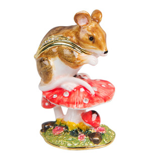 Treasured Trinkets by Sophia- Mouse On Toadstool