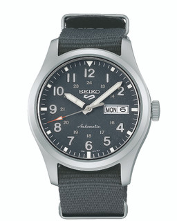 Seiko 5 Sports Automatic Dark Grey Dial Watch SRPG31K1 RRP £240.00 Our Price £1