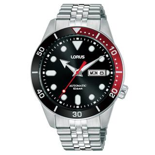 Lorus Mens Black Dial Automatic Bracelet Watch RL447AX9 £110.95