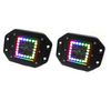 Can-Am 3 Inch ColorADAPT Series RGB Halo LED Flush Mounted Lights By Race Sport Lighting