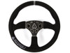 Can-Am 350R Suede Steering Wheel by Assault Industries