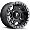 Can-Am Anza D557 Matte Black Wheel Set - 14 and 15 Inch by Fuel Off-Road