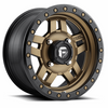 Can-Am Anza D583 Bronze Wheel Set - 14 and 15 Inch by Fuel Off-Road