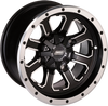 Can-Am 548M 12X8 4/136 4+4 Wheel by Moose