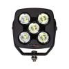 Can-Am 4.5 Inch Work Light 50 Watt Spot RGB Accent Megaton Series Quad-Lock/Interlock by QuakeLED