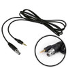 Can-Am 7' Intercom Audio Record Cable - Capture Intercom Audio on your GoPro or Video Camera By Rugged Radios
