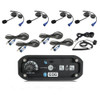 Can-Am 4-Place Intercom System with Alpha Audio Helmet Kits by Rugged Radios