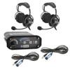Can Am 2-Place Intercom with 60 Watt Radio and OTU Headsets