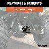 """Can Am Bolt-On Atv Tongue Adapter With 2"""" Receiver"""