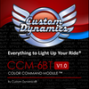 Can Am Offroad Water Tight Ccm-6 Magical Wizards™ Bluetooth Remote Control by Custom Dynamics