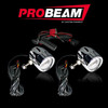 Can Am Ofroad Probeam Universal Motorcycle LED Halo Fog Lamps by Custom Dynamics
