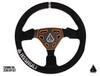 Can Am Navigator Suede Steering Wheel