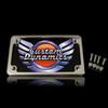 Can Am Offroad Horizontal Motorcycle Plate Frames With LED Illumination by Custom Dynamics