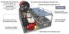 Can Am Defender Firelite Supermax Transport Skid Unit Darley-Davey Pump - 85 Gal Poly Water Tank / Hannay Reel & Rescue Area by Kimtek