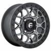 Can Am Maverick Tech D919 Matte Gun Metal Beadlock Wheel Set - 15 Inch by Fuel Off-Road