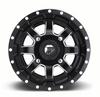 Can Am Maverick D538 Matte Black & Milled Wheels with Fuel Gripper T | R | K Tires