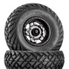 Can Am Anza D558 Matte Gunmetal Wheels with Fuel Gripper Tires by Fuel Off-Road