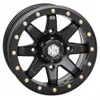 Can Am Offroad HD9 Matte Black Comp Lock Beadlock Wheels w / Bighorn Radial Tires by Stiand Maxxis