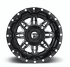 Can Am Lethal D567 Matte Black & Milled Wheels with Fuel Gripper T   R   K Tires