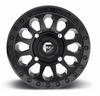 Can Am Vector D579 Matte Black Wheels with Fuel Gripper Tires