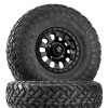 Can Am Fuel Tactic D630 Satin Black Wheels w  Fuel Gripper R   T Tires by Fuel Off-Road