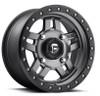 Can Am Fuel Anza D558 Matte Gun Metal Wheel Set by Fuel Off-Road