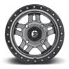 Can Am Fuel Anza D558 Matte Gun Metal Wheel Set