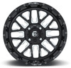 Can Am Fuel Stroke D611 Gloss Black Wheel Set