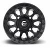 Can Am Fuel Vector D579 Matte Black Wheel Set