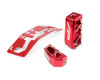 Can Am Maverick X3 Interior Upgrade Kit Red by Agency Power