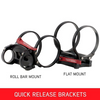 Can Am Offroad PB3 / PB5 Roll Bars Mount / Flat-Mount by Safecraft