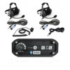 Can-Am 2-Place Intercom with BTU Headsets by Rugged Radios