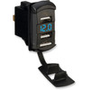 Can Am Dual USB Charger with Voltage Monitor