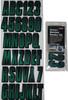 Can-Am Boat Lettering Forrest Green/Black 3″ Registration Kit