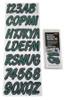 Can-Am Boat Lettering Forest Green/Black 3″ Registration Kit