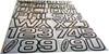Can-Am Boat Lettering Chrome/Black 3″ Registration Kit