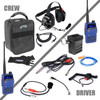Can Am Complete Team NASCAR 3C Racing System with Rugged V3 Handheld by Rugged Radios