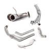 Can Am Maverick Turbo Gun Metal Euro-Blackout Dual Full System Performance Series Exhaust by HMF Racing