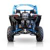 Can Am Maverick Turbo Pink Euro Black Dual Slip On Performance Series Exhaust by HMF Racing