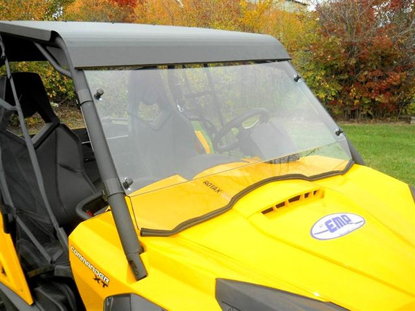 """Can-Am Commander """"Cooter Brown"""" Hard Coat Full Windshield by EMP"""