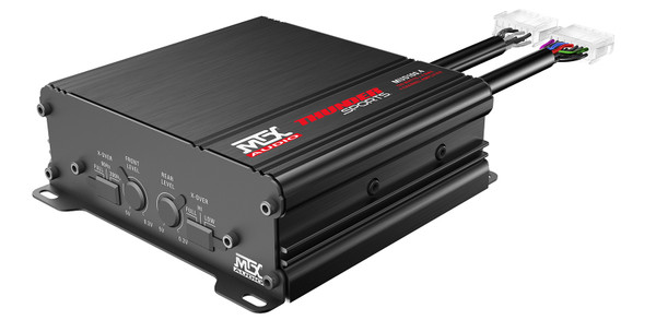 Can-Am 400W RMS 4-Channel Power Sports Amplifier by MTX Audio
