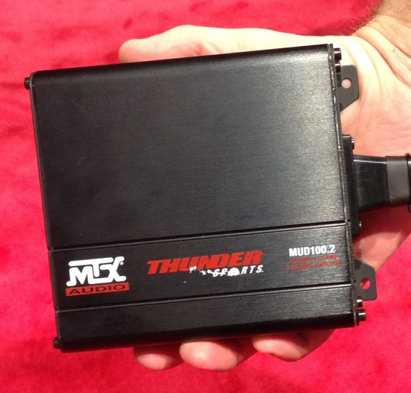 Can Am Commander 2-Channel Amplifier and Roll Cage Speaker Audio Package by MTX Audio (ECC)